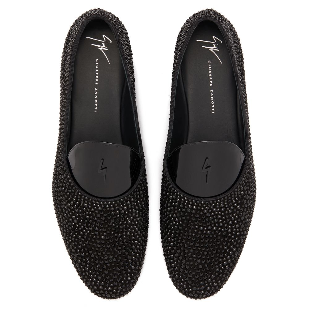 DAVID FLASH - Black - Loafers