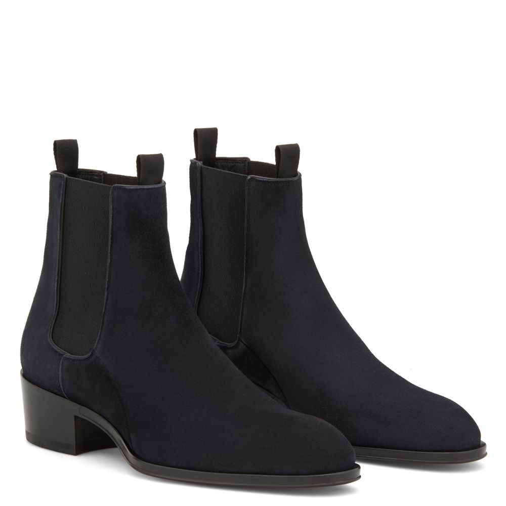 ABBEY - Blue - Boots