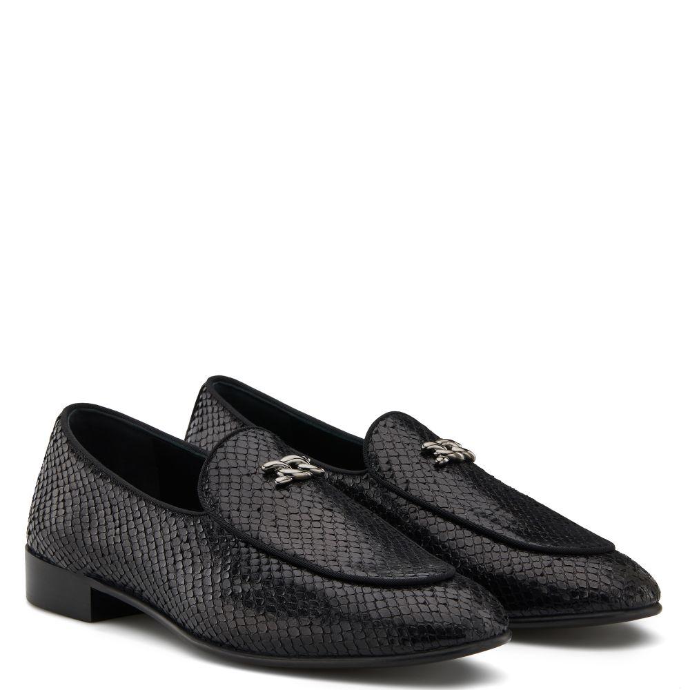 RONNY PYTHON - Black - Loafers