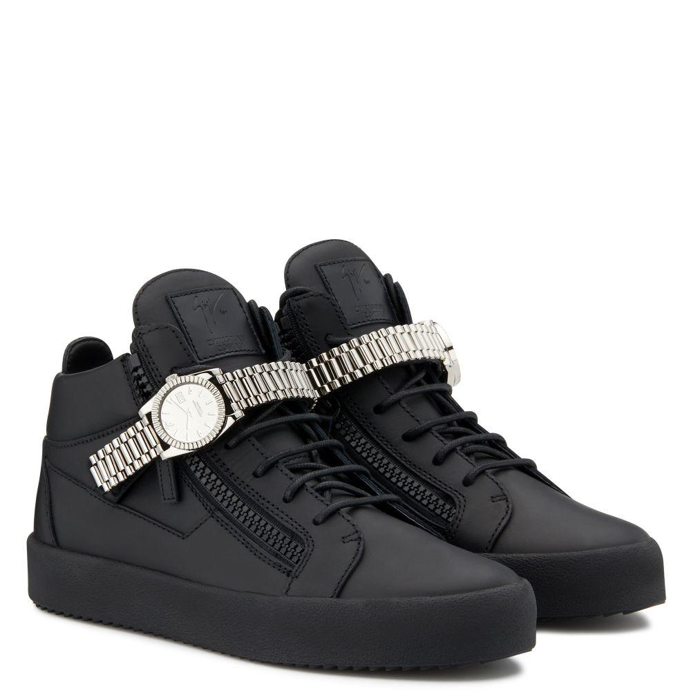 GZXCOWAN - Black - Mid top sneakers