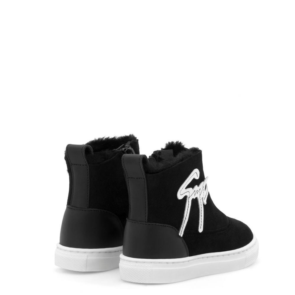 CYRIL JR. - Black - High top sneakers