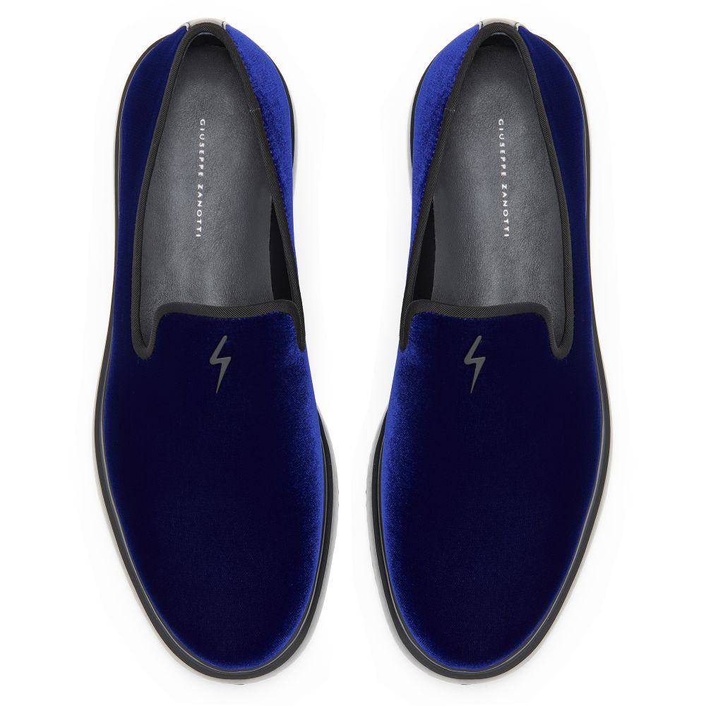 CLEM - Blue - Loafers