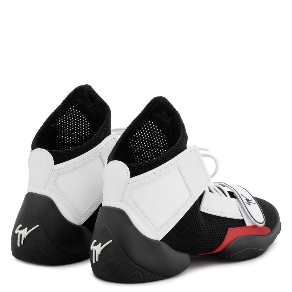 LIGHT JUMP MT1 - Black - Mid top sneakers