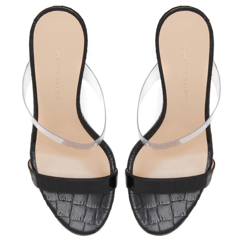 DULCINA - Black - Sandals