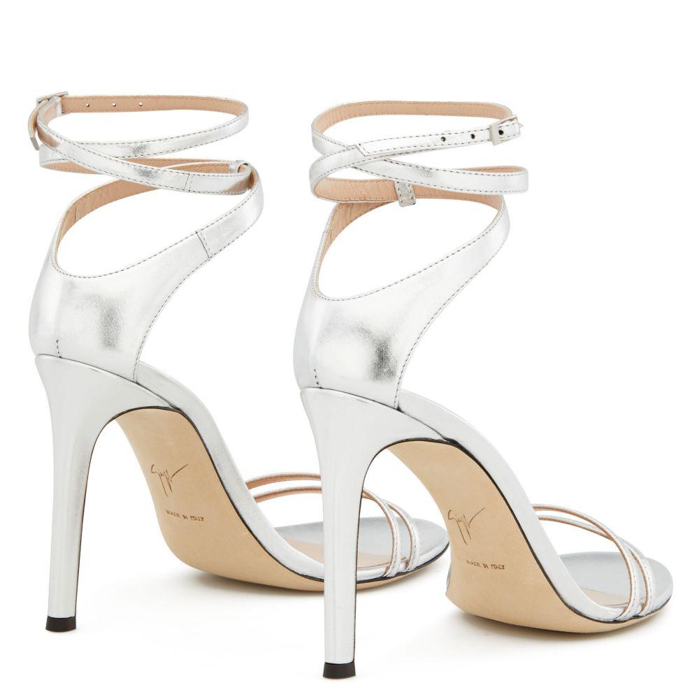 CATIA - Silver - Sandals