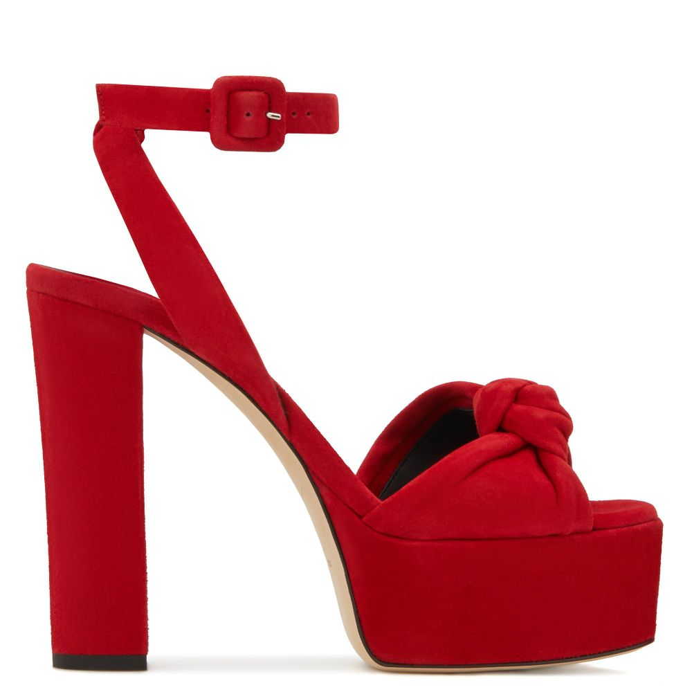 BETTY KNOT - Rosso - Plateau