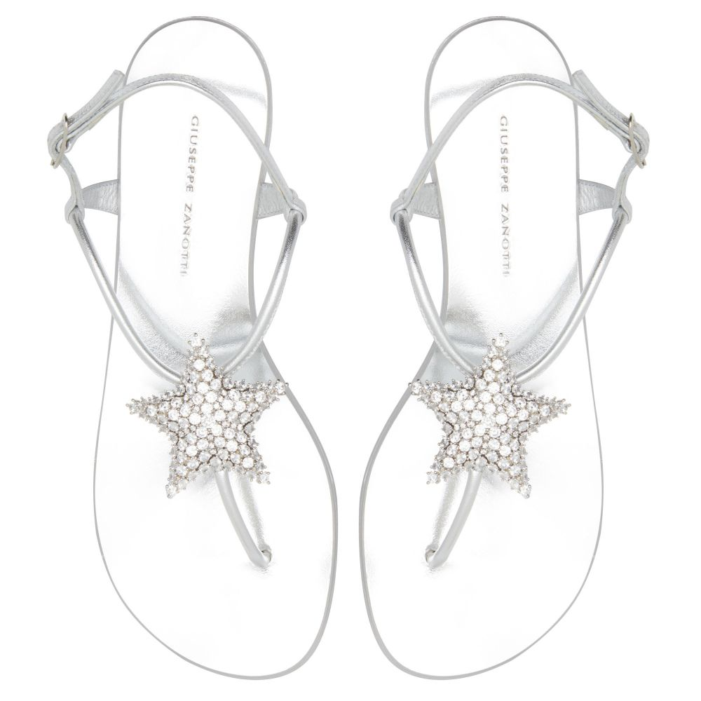 HOLLIE STAR - Silver - Flats