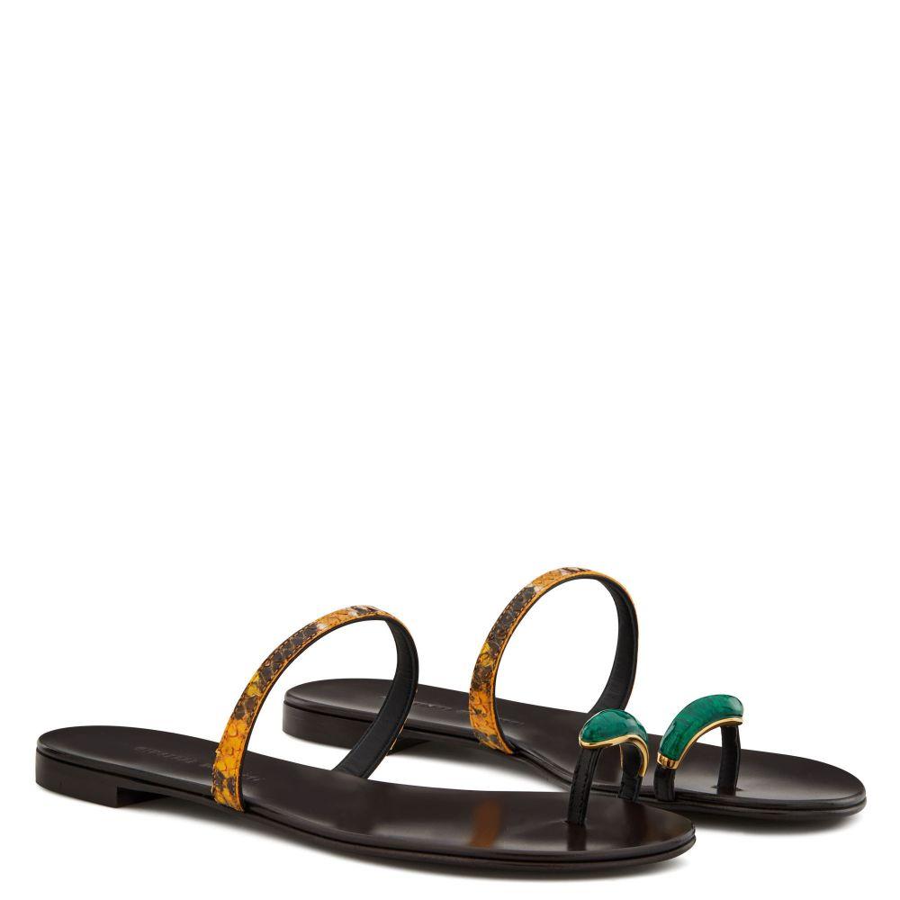 RING GEM - Multicolor - Flats