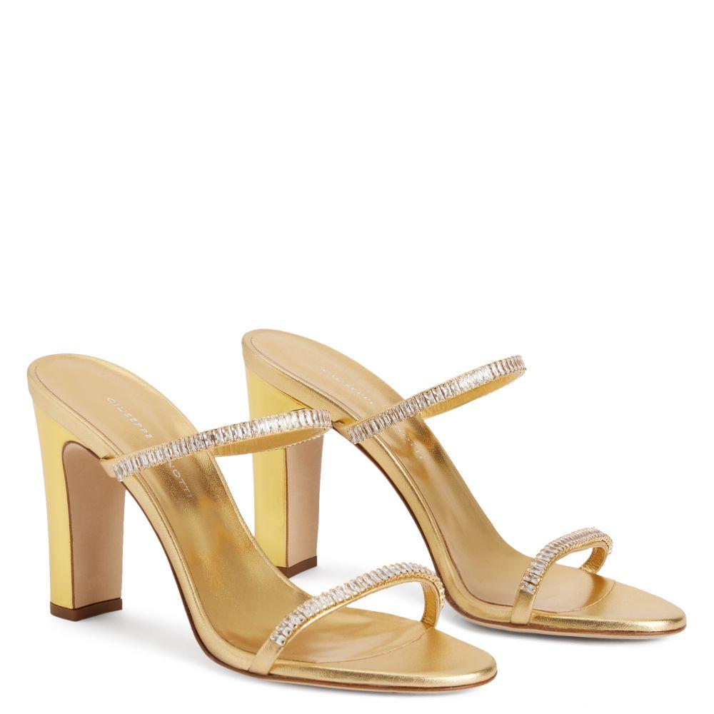 OUAFAE - Gold - Sandals