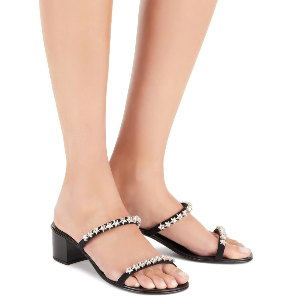 COMETA - Black - Sandals