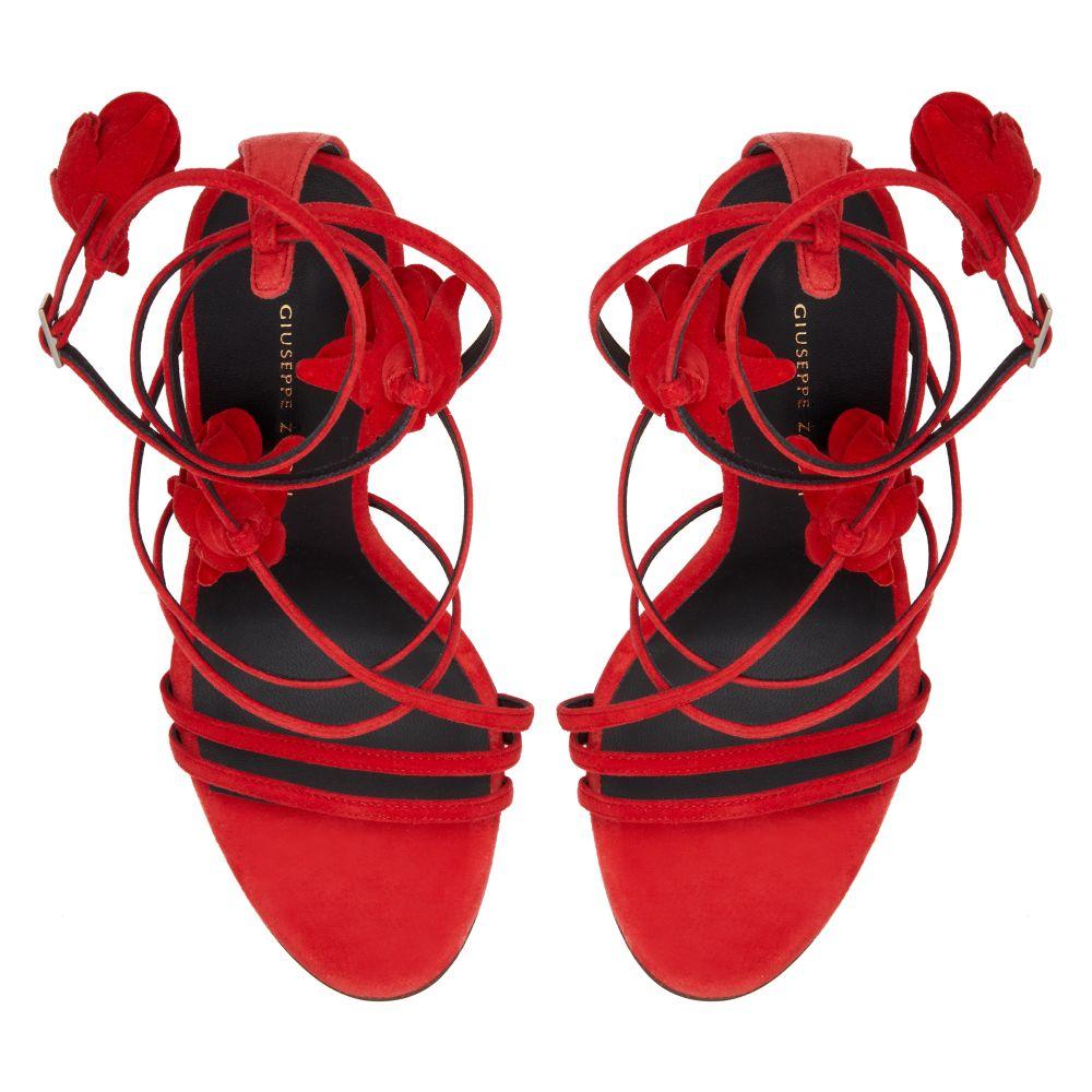 DANSE DU FEU - Red - Sandals