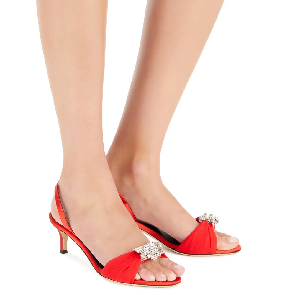 TIPHAINE - Red - Sandals