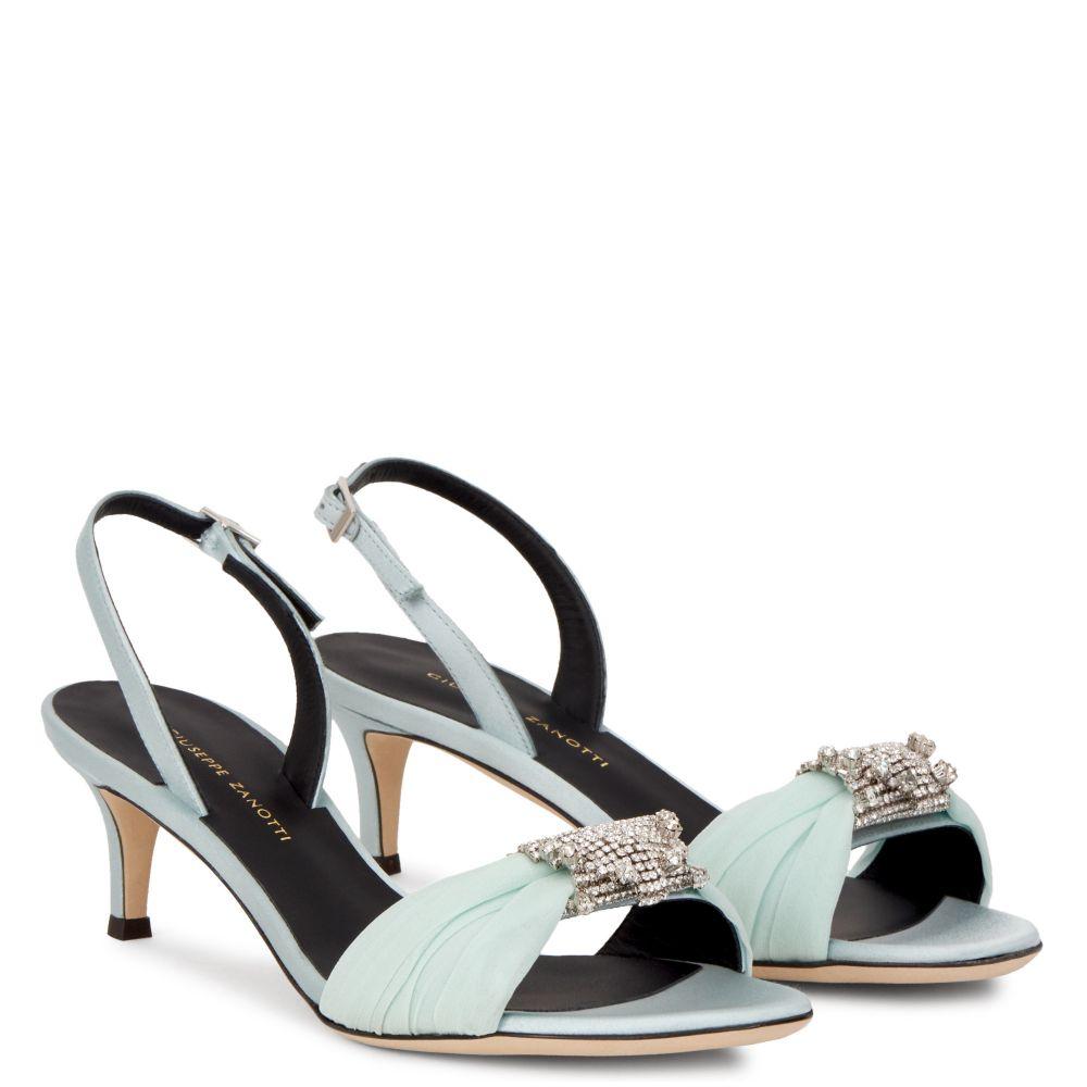 TIPHAINE - Bleu - Sandales