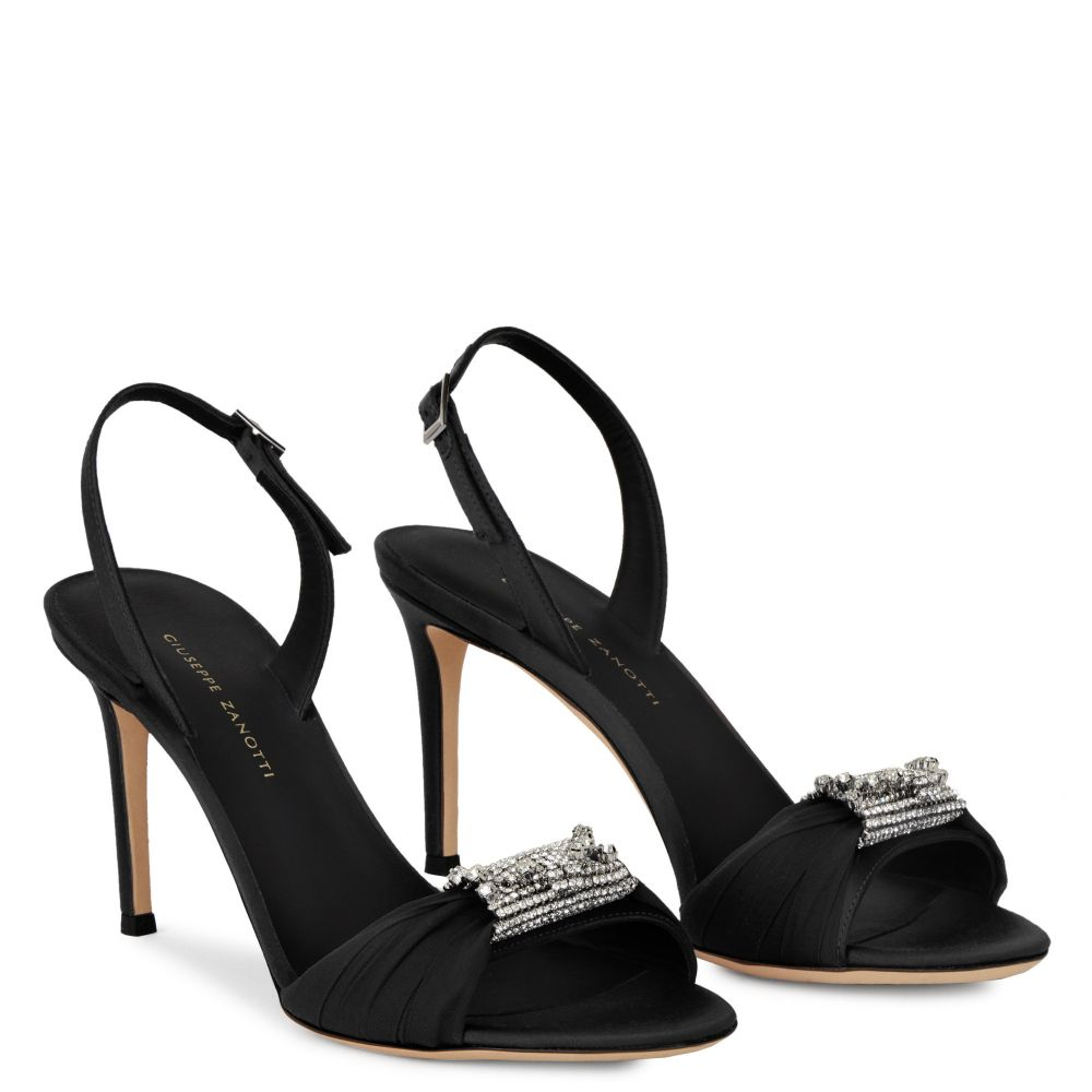 TIPHAINE - Black - Sandals