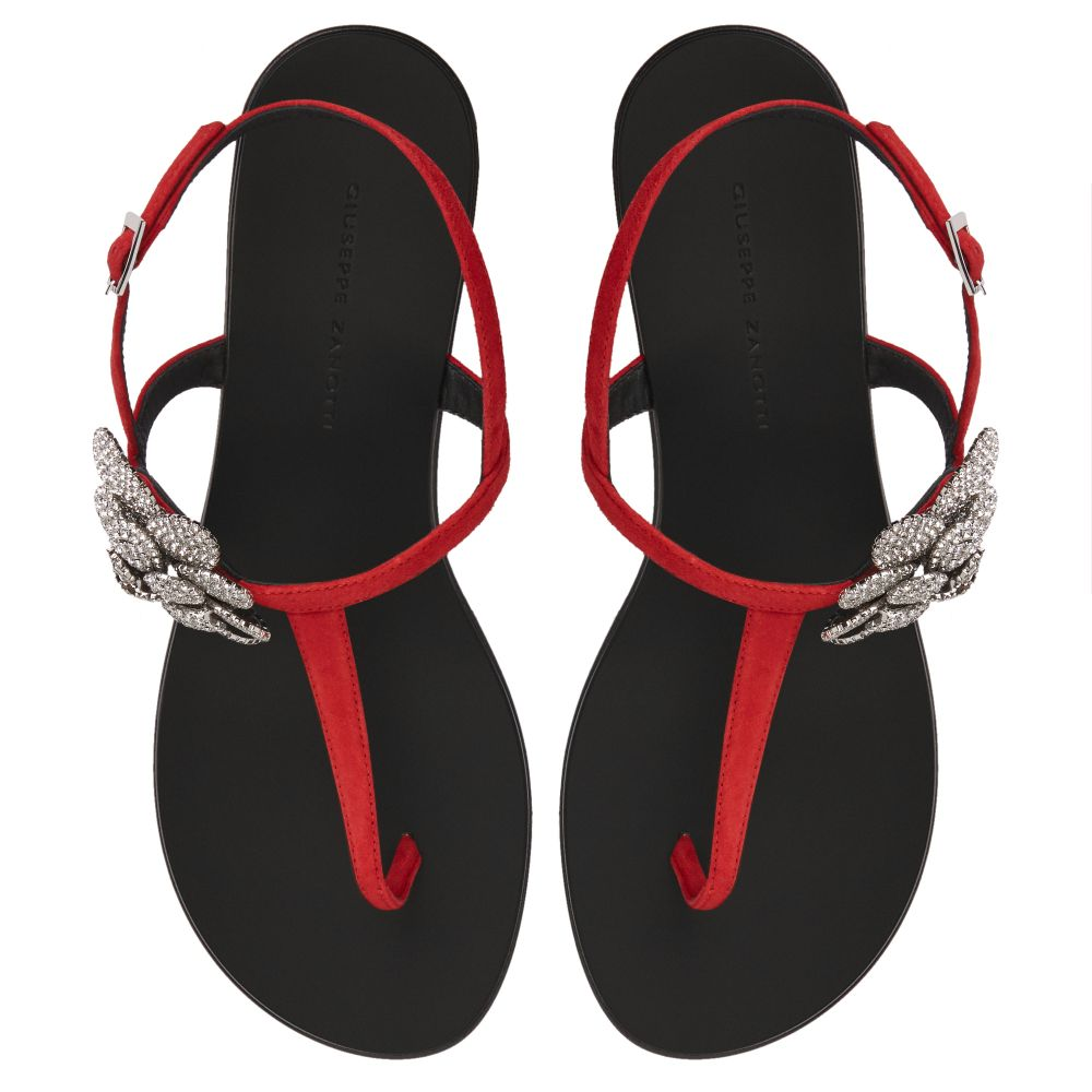 PHOEBE - Red - Sandals