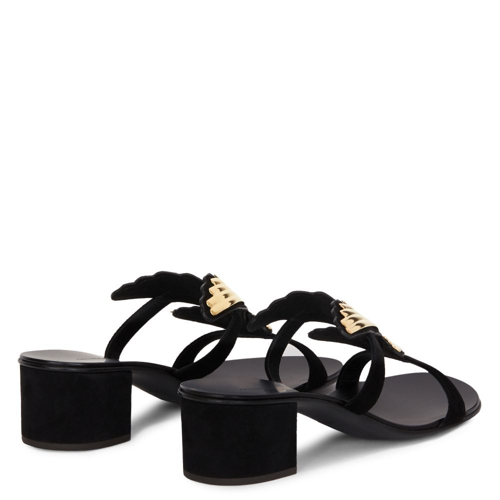 2.0 CRUEL - Noir - Sandales