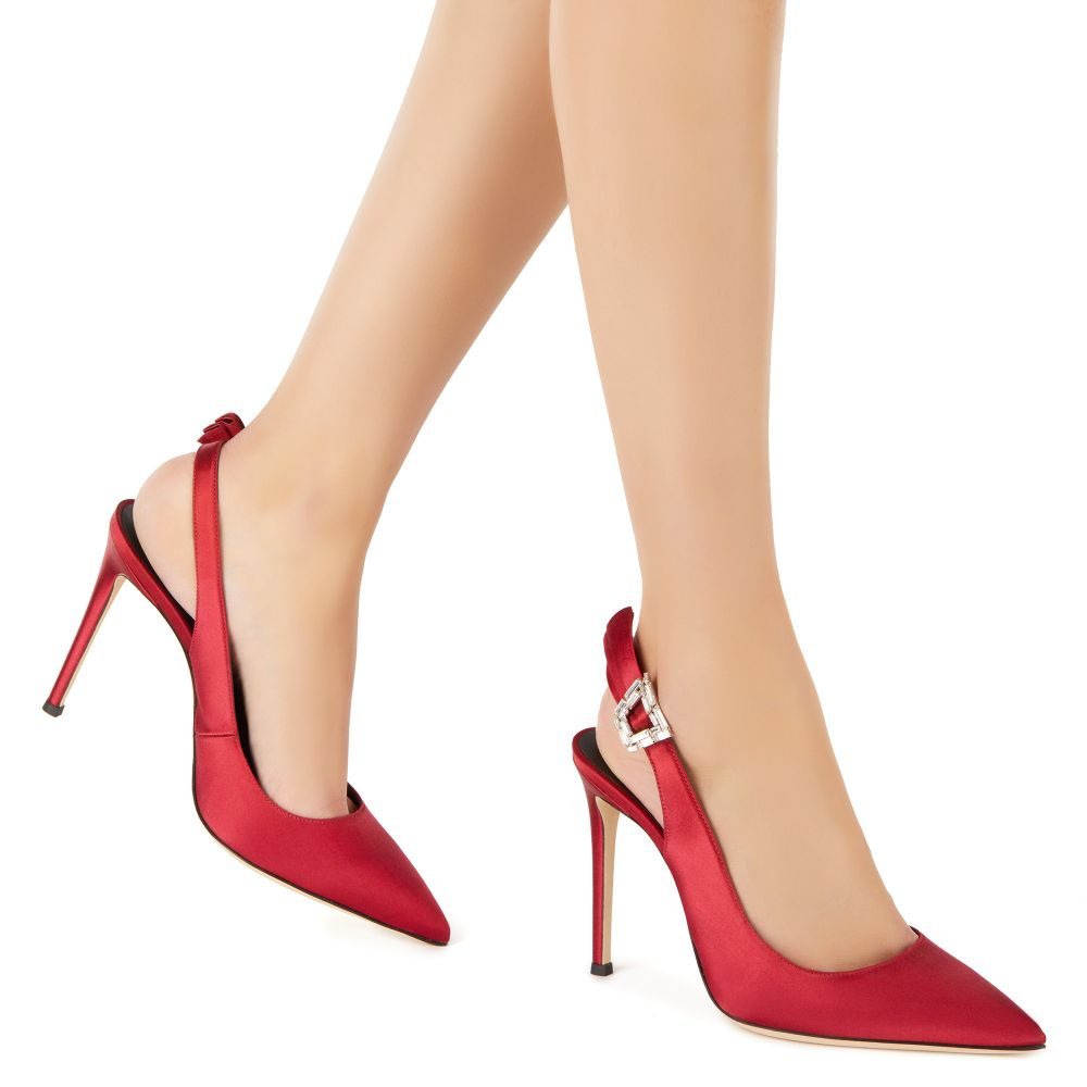 SAMIA - Red - Pumps