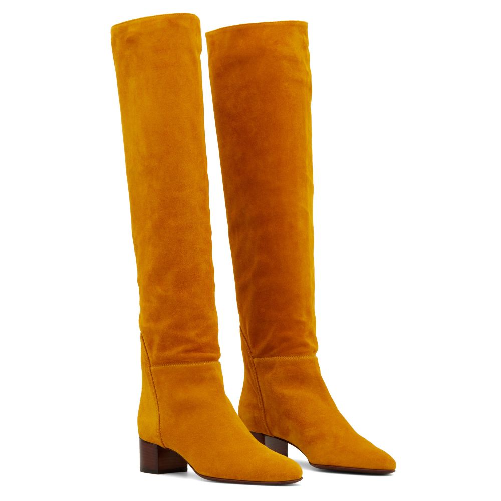CLELIA - Yellow - Boots