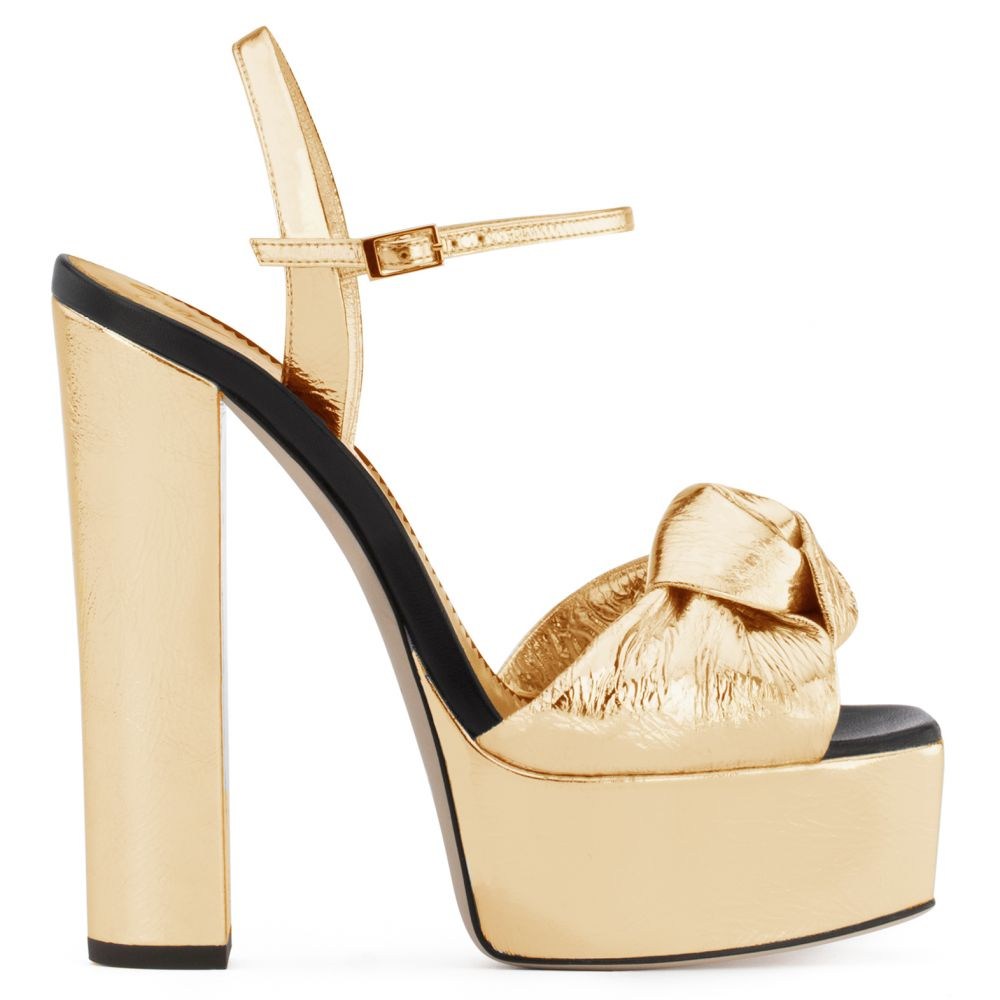 BARBRA - Gold - Platforms