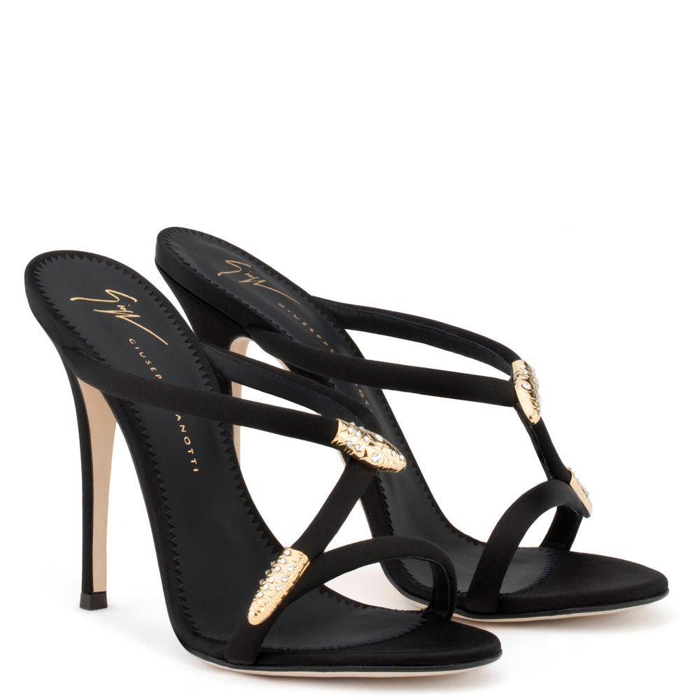 ALEESHA - Black - Sandals