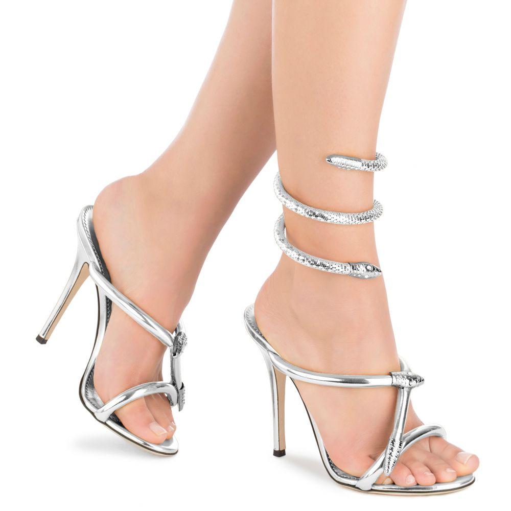 ALEESHA - Silver - Sandals