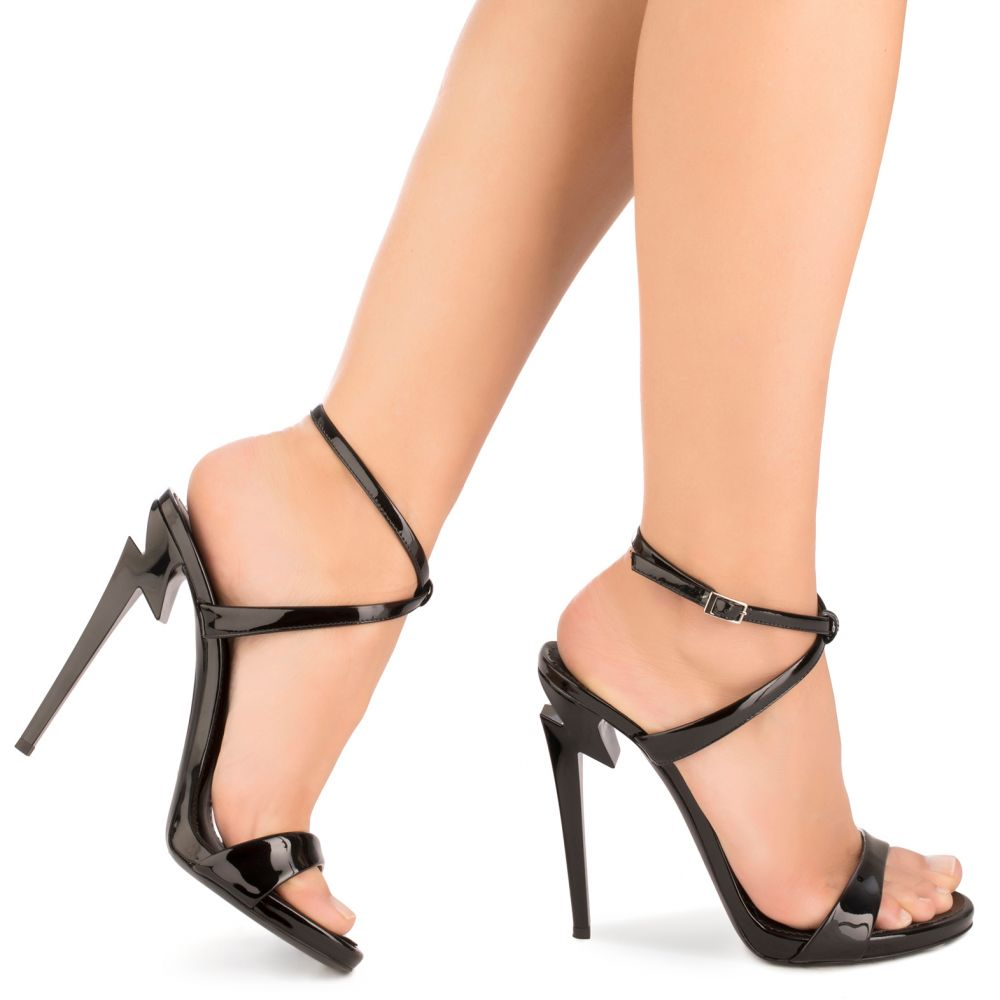 G-HEEL - Black - Sandals