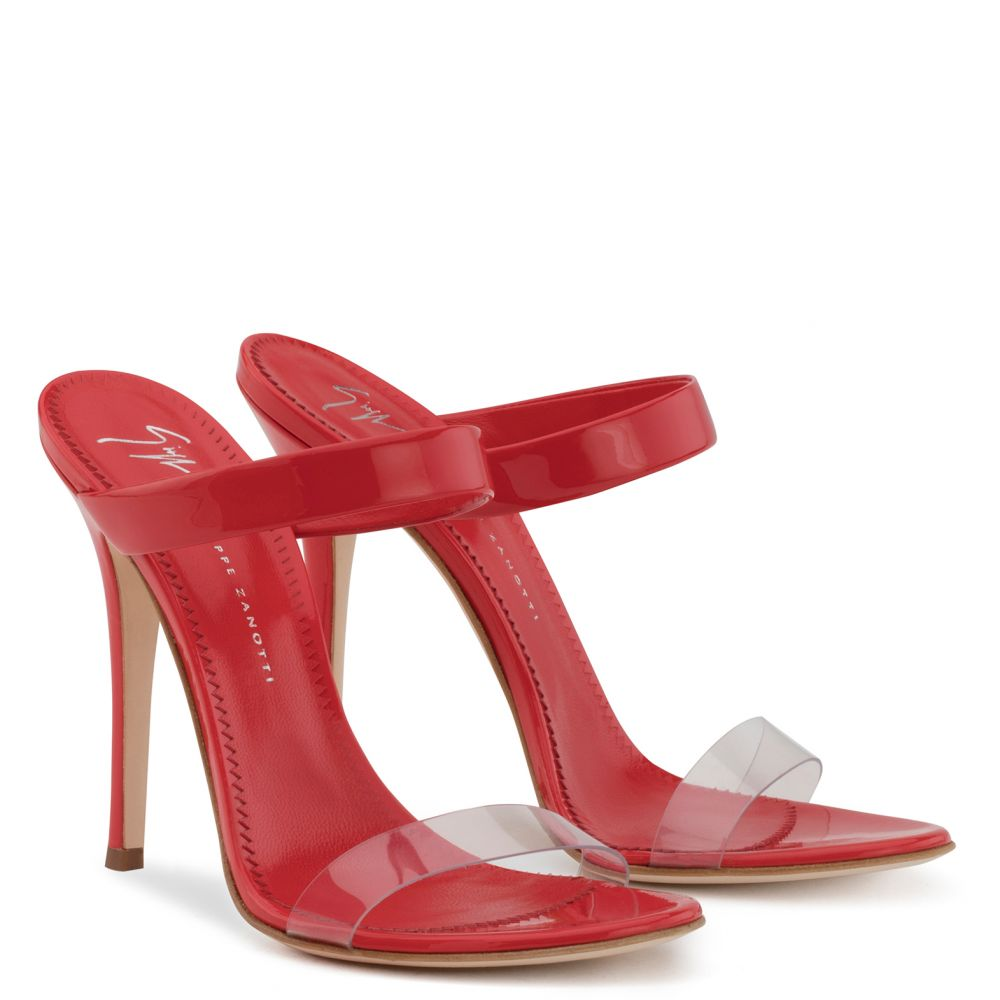 NEW DARSEY - Red - Sandals