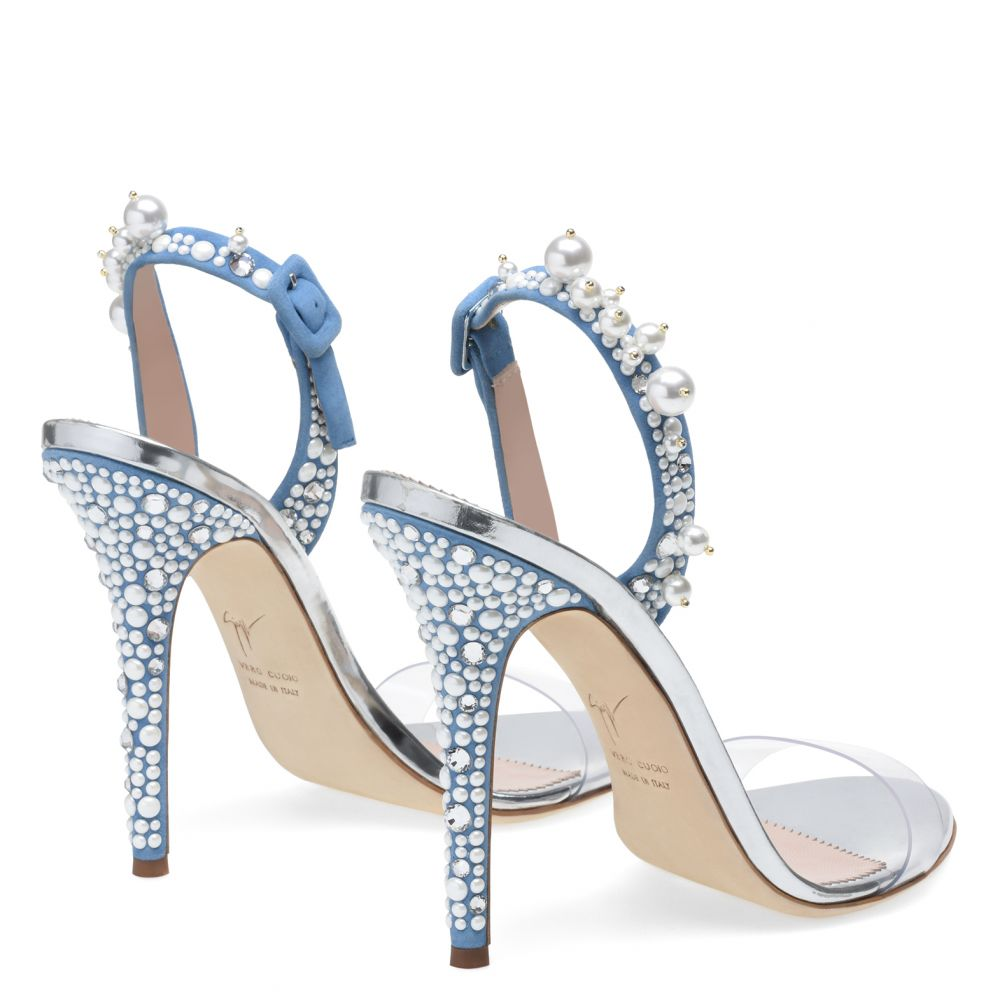 ELIZA - Blue - Sandals