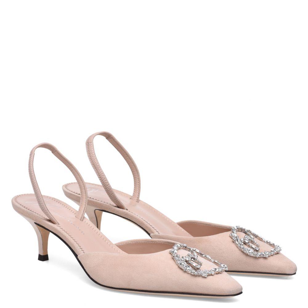 JOLIE 50 - Rose - Sandales