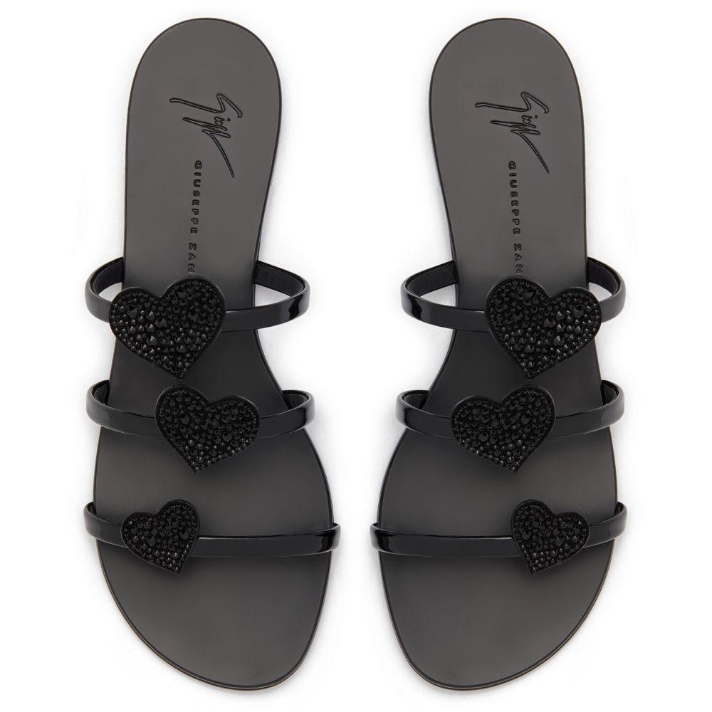 ANYA LOVE - Noir - Sandales