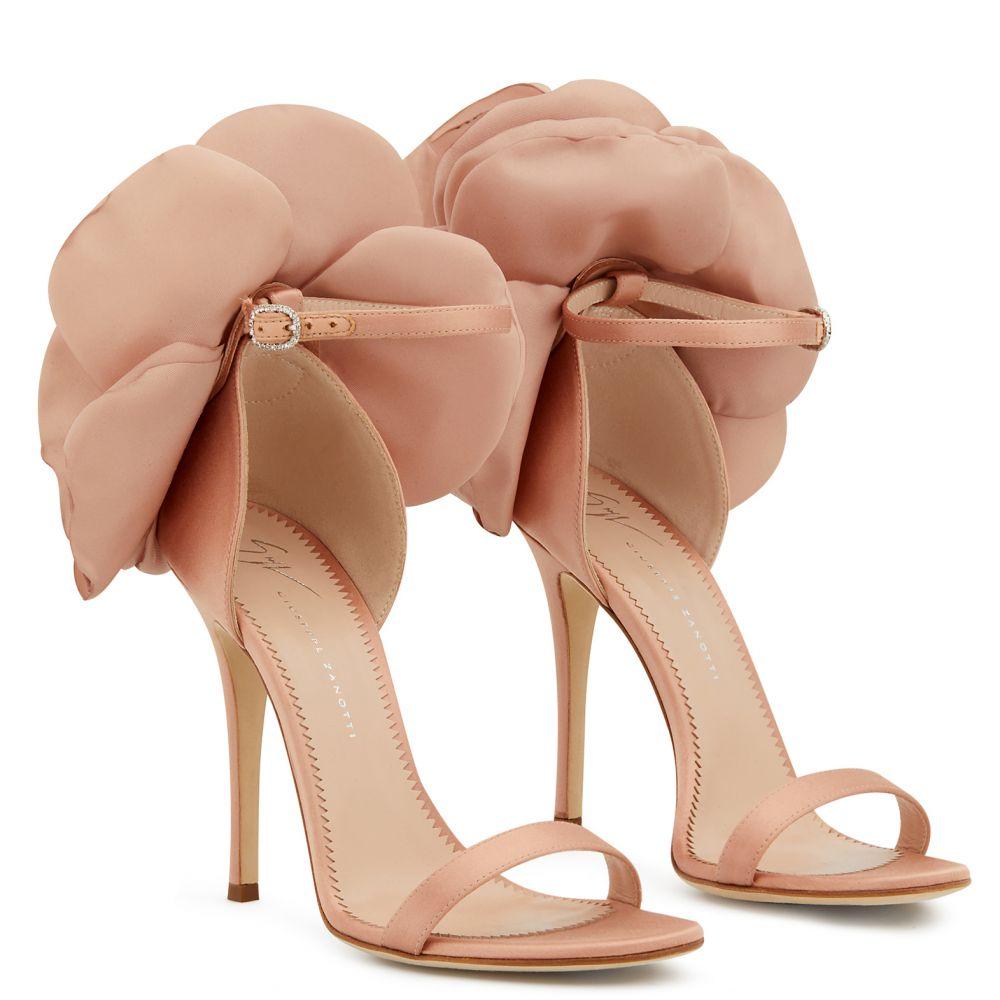 PEONY - Sandals - Pink | Giuseppe Zanotti