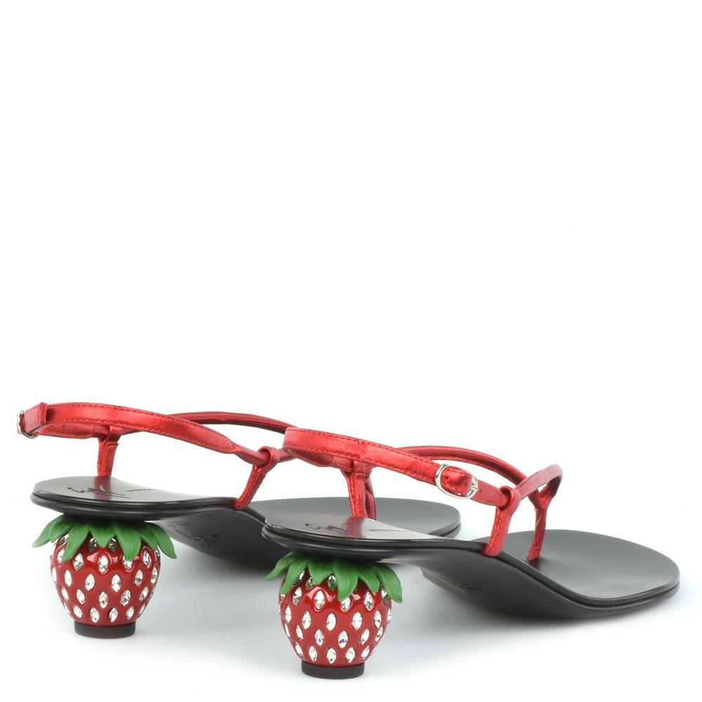 FRAGOLA - Red - Sandals
