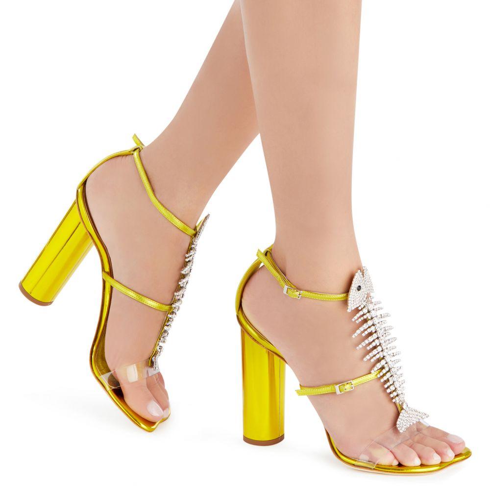 SLIM - Yellow - Sandals