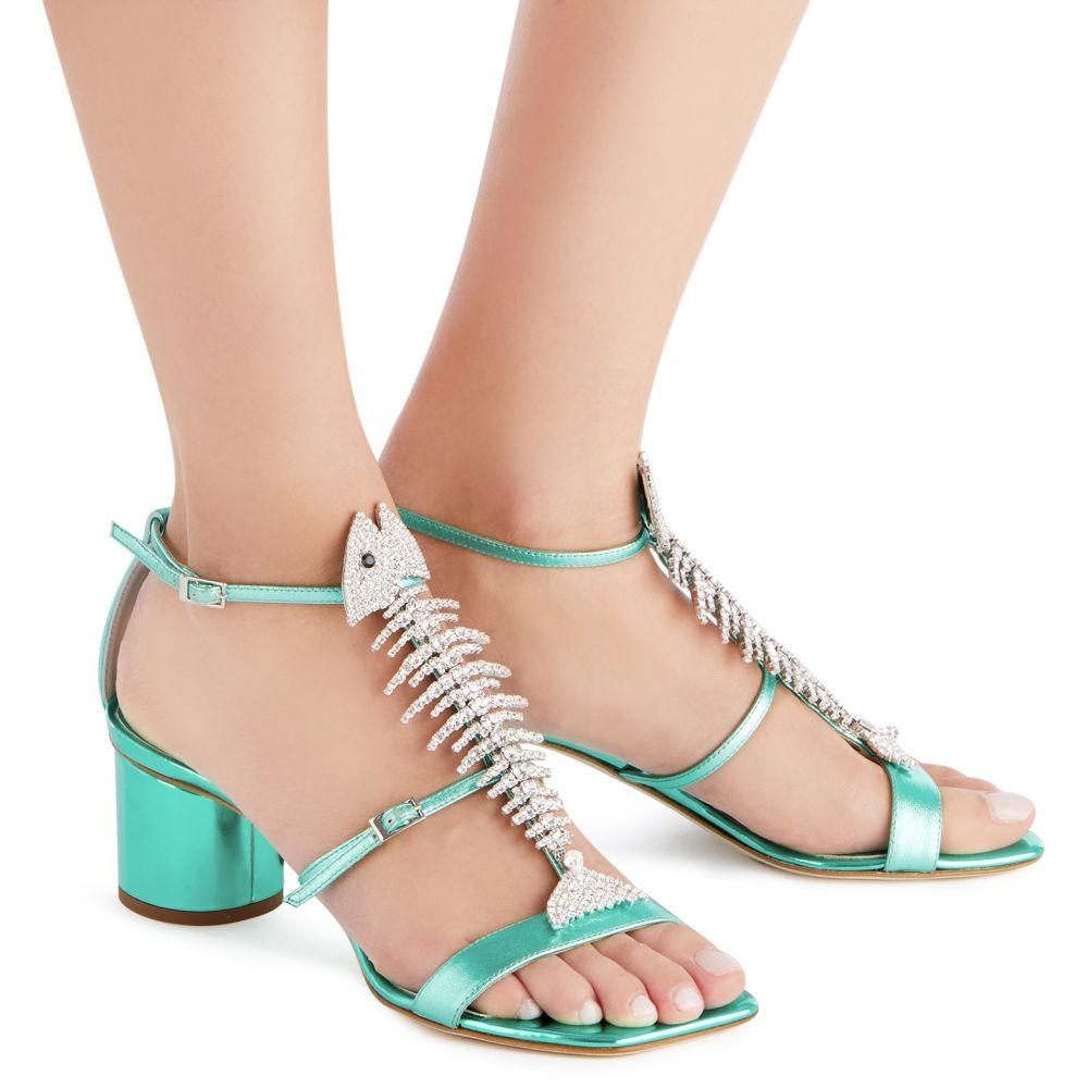 SLIM 50 - Green - Sandals