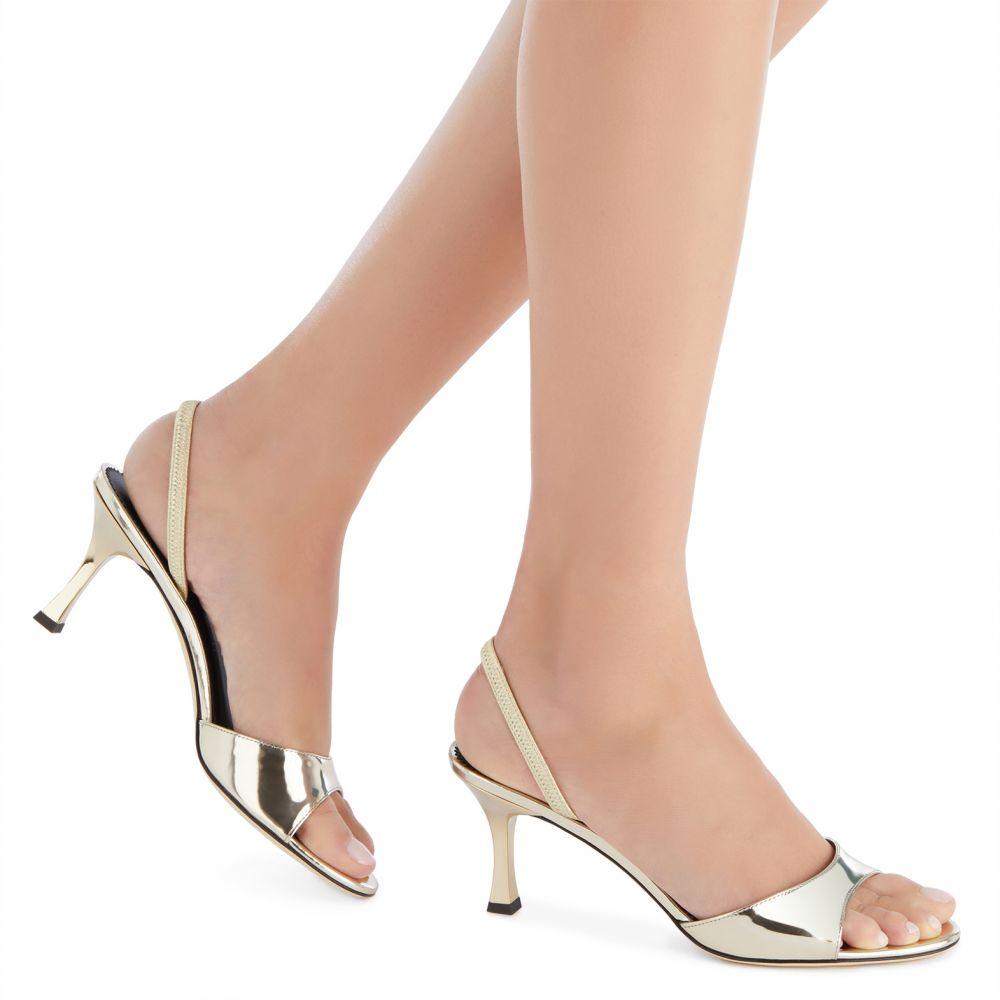 KELLEN - Gold - Sandals