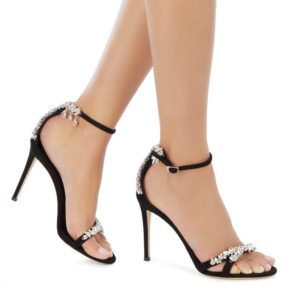 LYNETTE - Black - Sandals