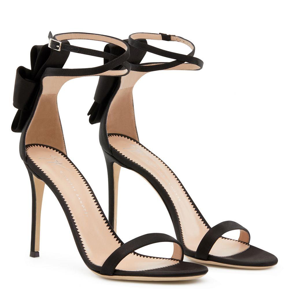 ALINA BOW - Black - Sandals