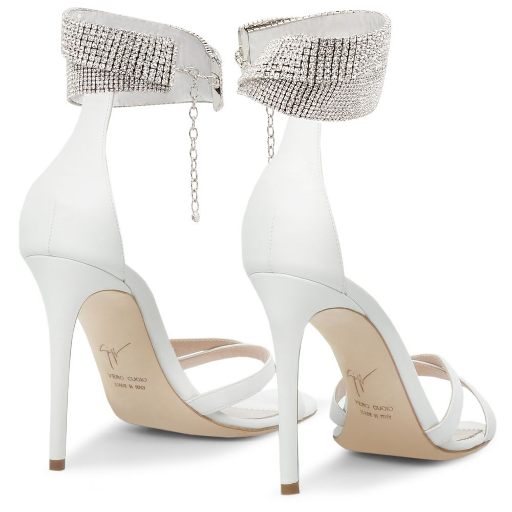 JANELL - White - Sandals