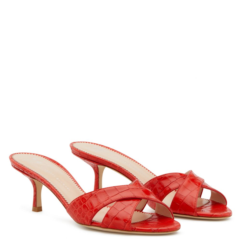 FELICIA - Red - Sandals