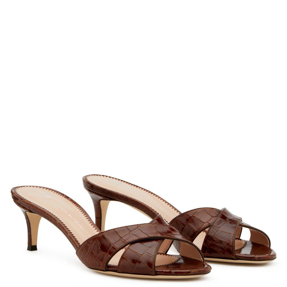 FELICIA - Brown - Sandals