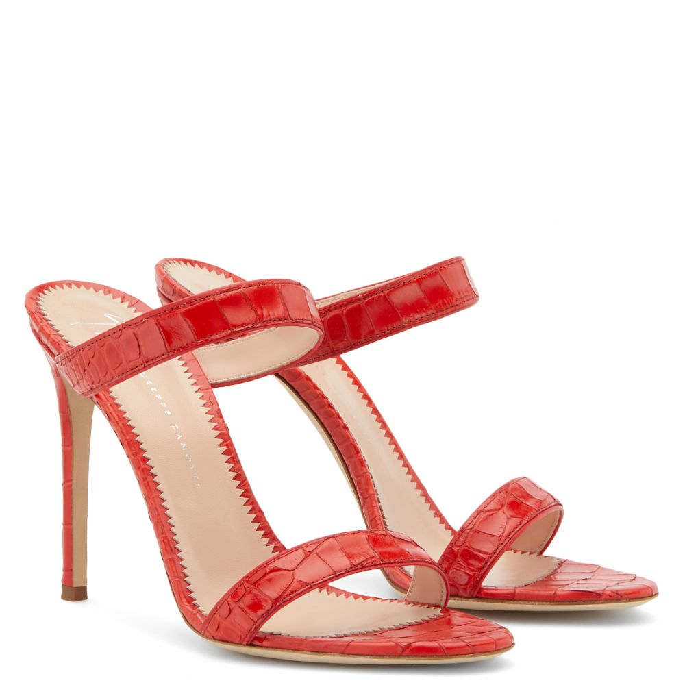 CALISTA - Red - Sandals