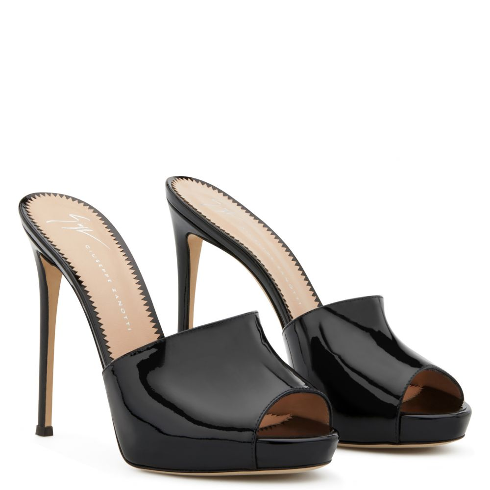 NETTIE - BLack - Sandals