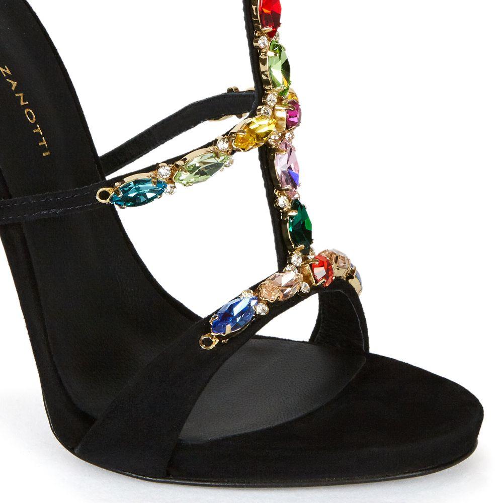 ELBA - Black - Sandals