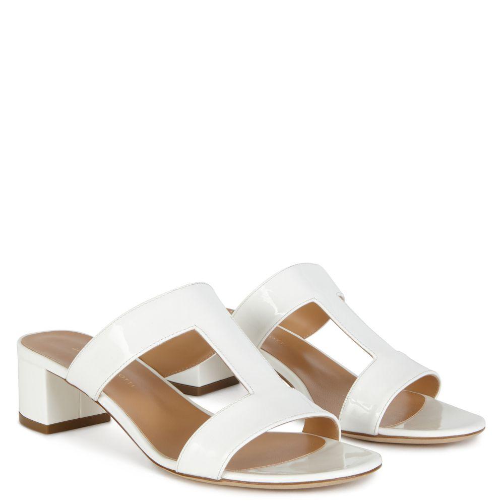 SARITA LINK - White - Sandals