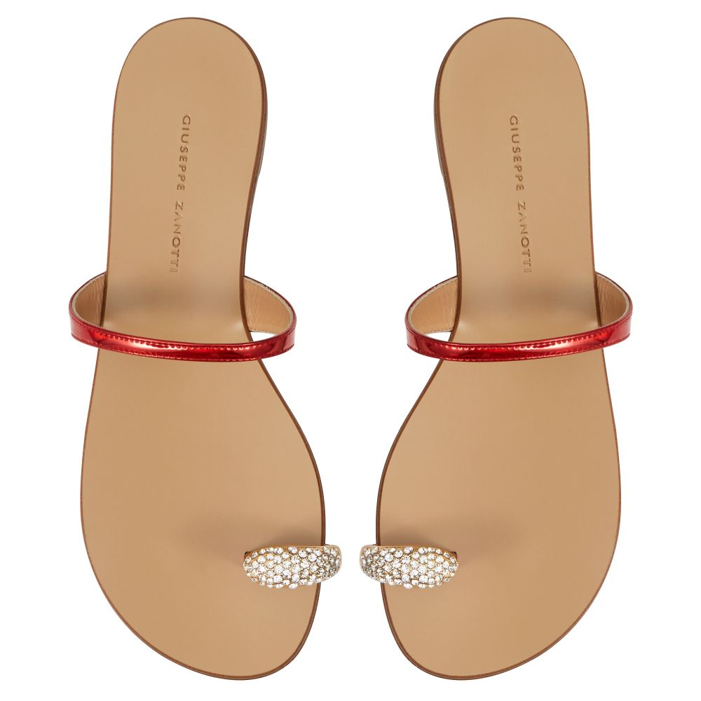 RING - Red - Flats