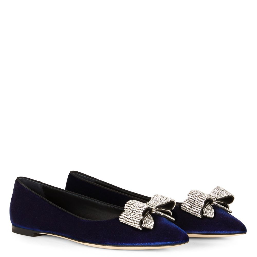 YARA - Blue - Loafers