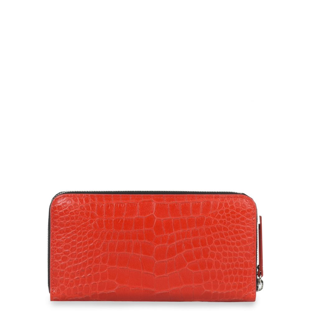 LAYLA - Red - Wallets