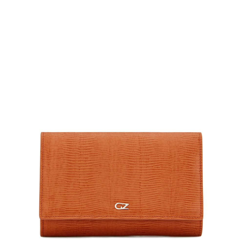 EMILEE - Orange - Clutches