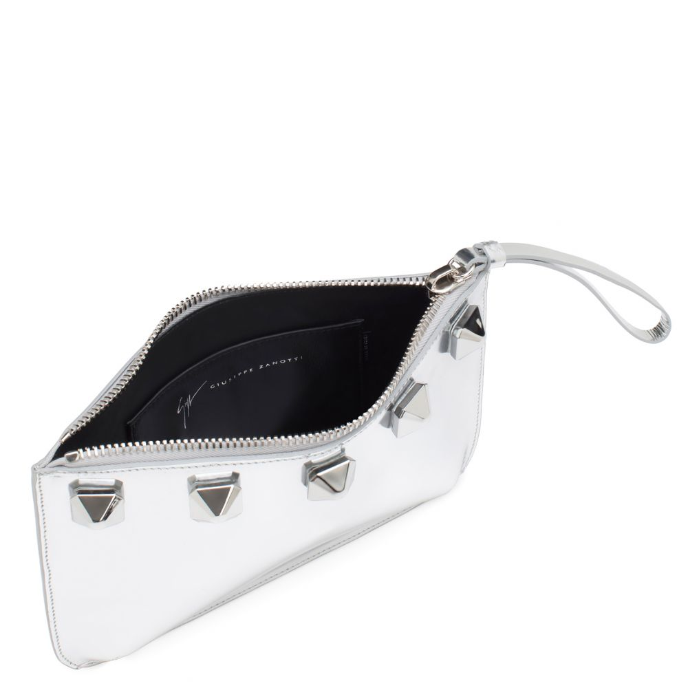 CALLISTO - Silver - Clutches