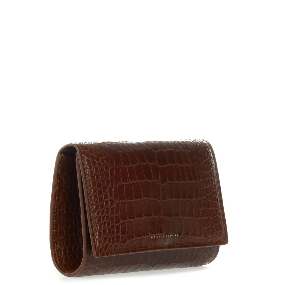 EMILEE - Brown - Clutches